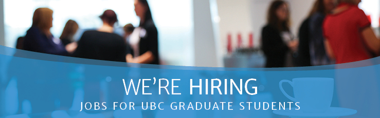 GSS Job Posting: Multimedia Communications Manager (UBC Work-Learn Program)