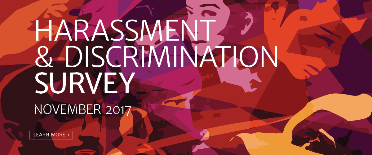 Harassment and Discrimination Survey Opens for Grad Student Feedback