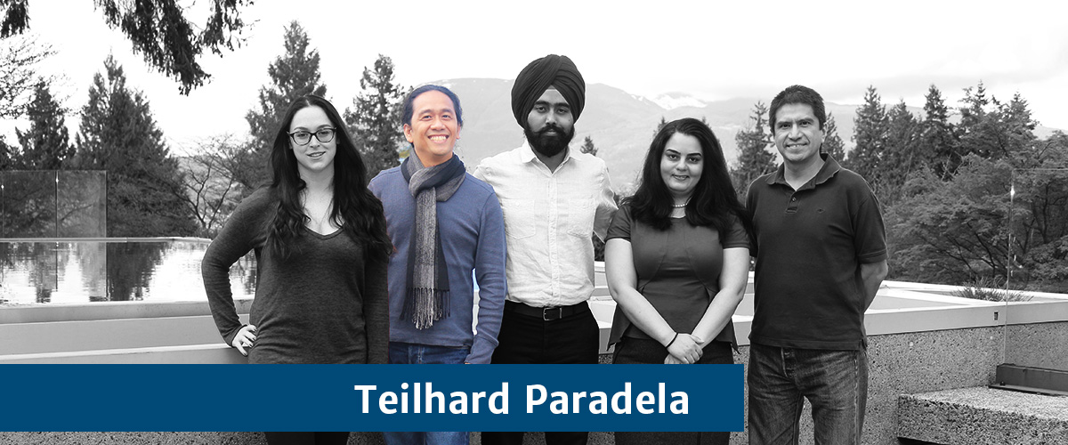 Teilhard Paradela- University and Academic Affairs